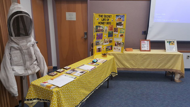 Eau Gallie Library with the Melbourne Garden Club.  Topic:  Bringing back the Bees  11/1/2019
